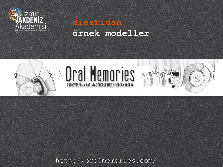 http://oralmemories.com/http://oralmemories.com/ dışarıdan