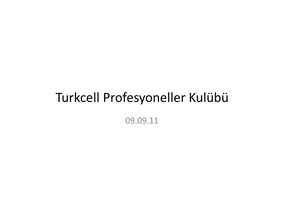Turkcell Profesyoneller Kulübü 09.09.11