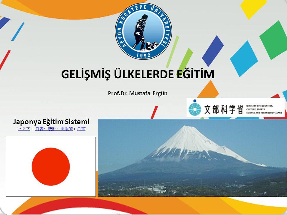 Japon eğitim tarihinde üç büyük reform dönemi vardır:  Meici Reformları dönemi  İşgal Kuvvetlerinin Reform dönemi: Bir «eğitim sistemi» kurulmuştur.