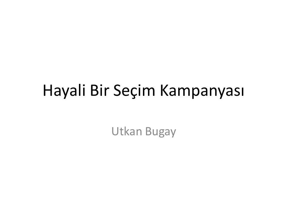 Başlangıç noktası Gezi Parkı olayları - mevcut düzenden şikayetçi 8 milyon insan - arayışta olan büyük bir kitle - seçim barajı - Gezi Partisi