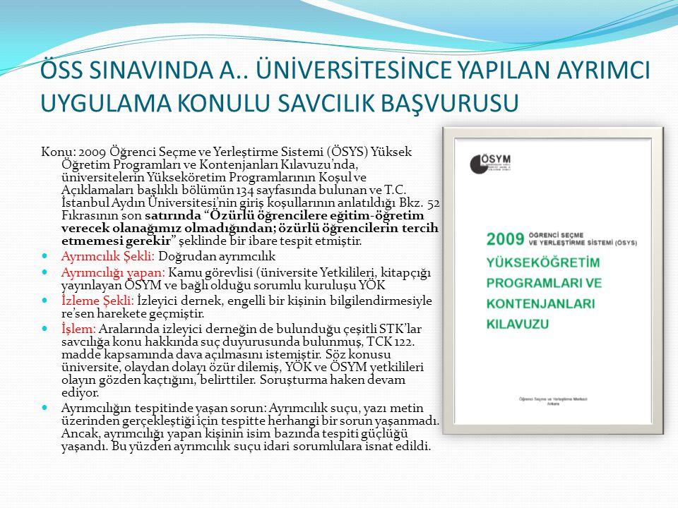 İSTANBUL BÜYÜKŞEHİR BELEDİYESİ METROBÜS DAVASI Konu: TOHAD, bu konuda yaptığı tespitiler doğrultusunda 12 Haziran 2009 tarihinde İBB'ye yazılı bir baş