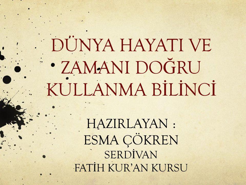 İ slam'da tatil ve istirahat - Çalı ş arak dinlenme prensibi - Kur'an'da dinlenme وَجَعَلْنَا نَوْمَكُمْ سُبَاتًا وَجَعَلْنَا الَّيْلَ لِبَاسًا وَجَعَلْنَا النَّهَارَ مَعَاشًا