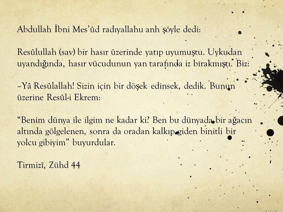 24 saatinden birini Hakk'a vermeyene insan denilir mi? Mehmet Akif Ersoy