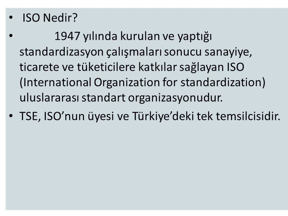 • ISO Nedir.