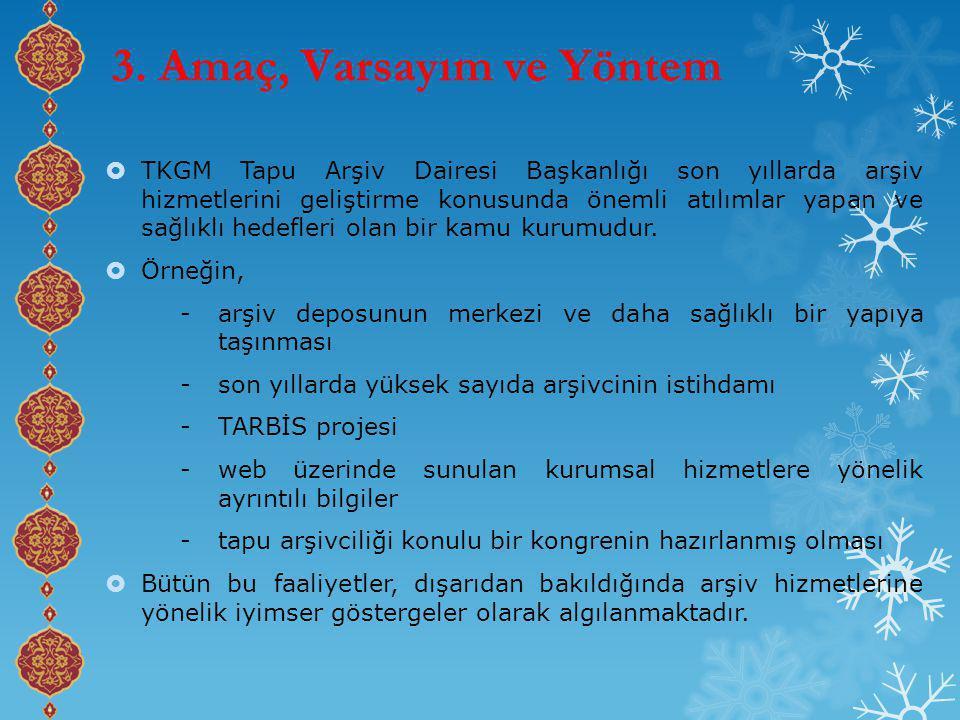  TKGM Tapu Arşiv Dairesi Başkanlığı son yıllarda arşiv hizmetlerini geliştirme konusunda önemli atılımlar yapan ve sağlıklı hedefleri olan bir kamu kurumudur.