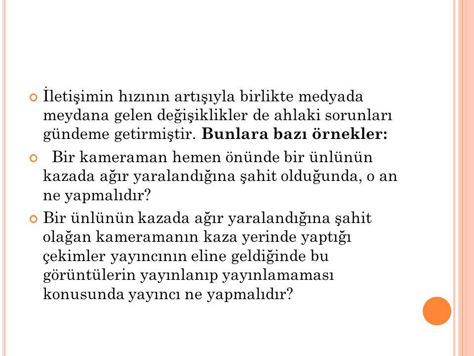 Demir, M., (2010), Sağlık Haberleri ve Medya Gerçeği Nobel Yayınları, Ankara Eşer İ., Hakverdioğlu G., (2006), Fiziksel Tespit Uygulamaya Karar Verme C.Ü.