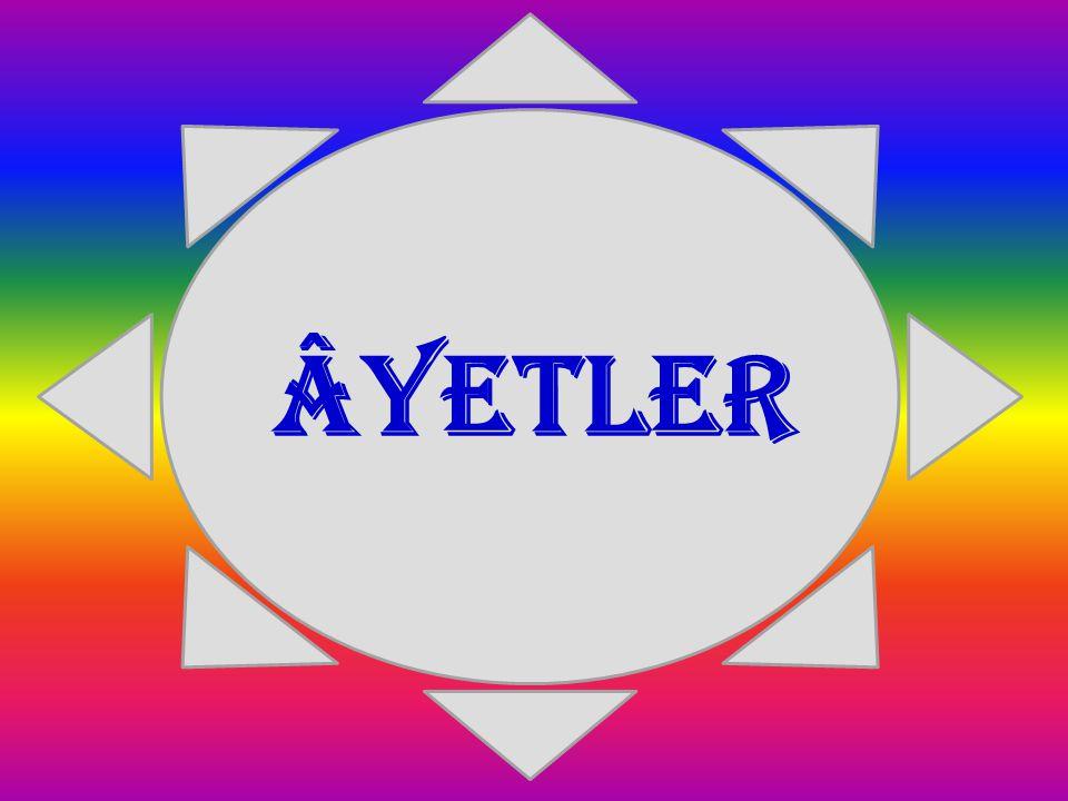 ÂYETLER