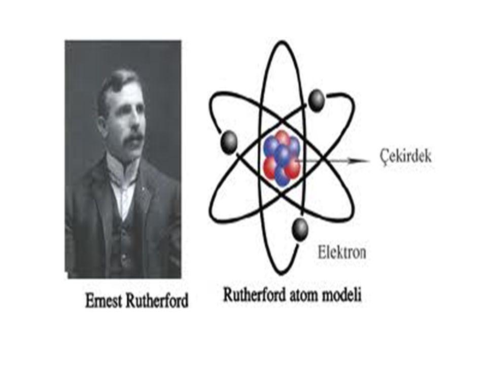 BOHR ATOM MODELİ : - Atomlar merkezde atom çekirdeği, çevresinde aynı yörüngede birden çok elektron bulundurabilen küre şeklinde taneciklerdir.