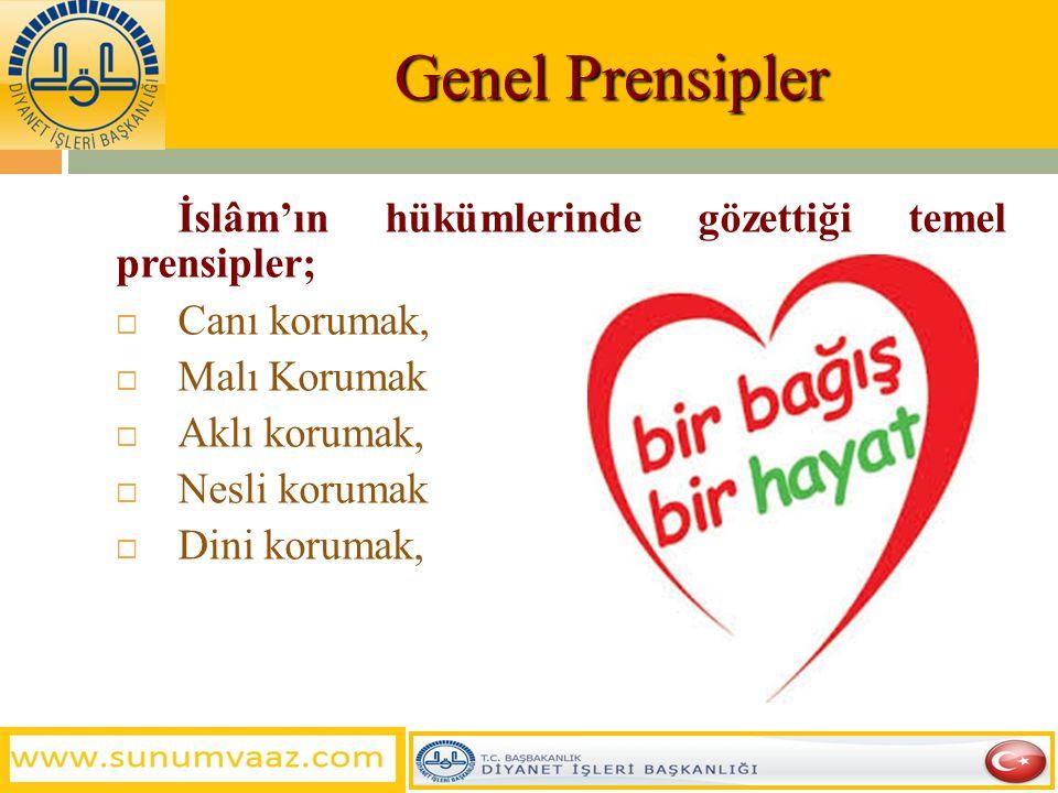 Organ Nakli Nedir?  İslam insan hayatına büyük önem vermiştir. Hayatı korumayı dinin beş temel makasıdından biri saymıştır. Dinimiz hayatı ve sağlığı