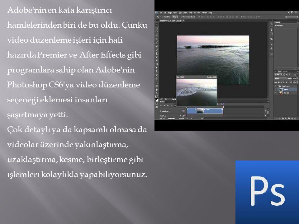 Adobe'nin en kafa karıştırıcı hamlelerinden biri de bu oldu. Çünkü video düzenleme işleri için hali hazırda Premier ve After Effects gibi programlara