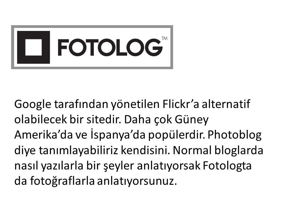 Google tarafından yönetilen Flickr'a alternatif olabilecek bir sitedir. Daha çok Güney Amerika'da ve İspanya'da popülerdir. Photoblog diye tanımlayabi