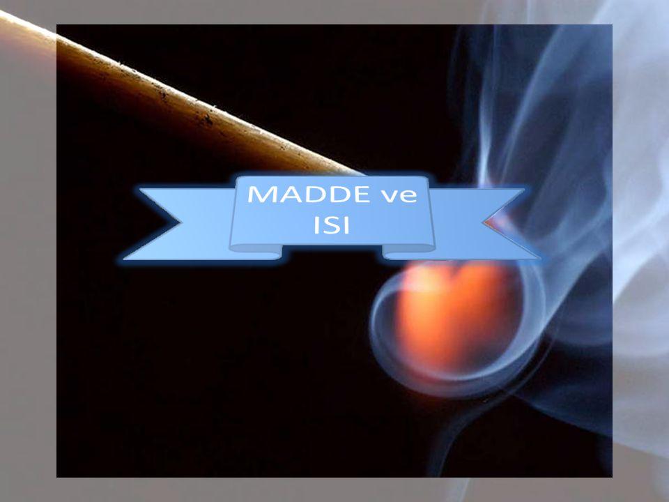 • Endotermik : Dışarıdan ısı alarak gerçekleşen olaylara denir.