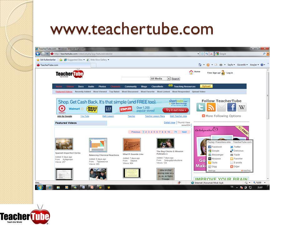 www.teachertube.com