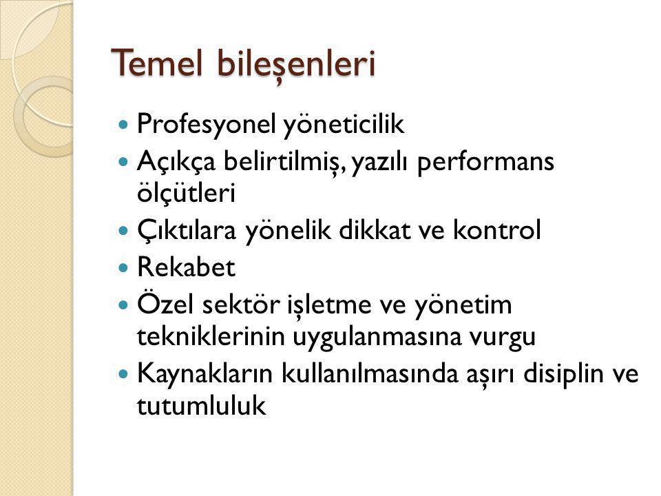 Türkiye'de kamu yönetimi reformlarının kamu işletmecili ğ i bakımından incelenmesi Türkiye Kamu Yönetimi Araştırması-1988