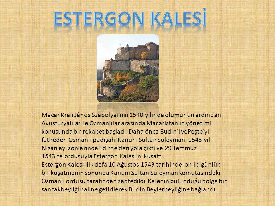 Macar Kralı János Szapolyai'nin 1540 yılında ölümünün ardından Avusturyalılar ile Osmanlılar arasında Macaristan'ın yönetimi konusunda bir rekabet baş