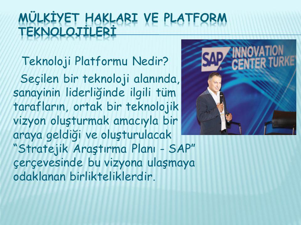 Teknoloji Platformu Nedir.