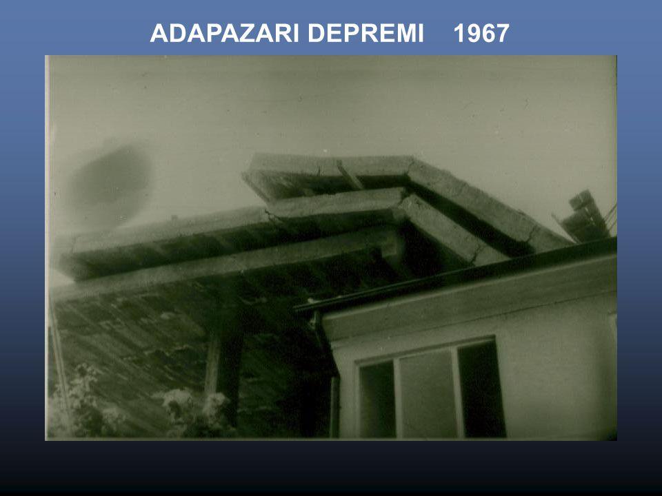 ADAPAZARI DEPREMI 1967