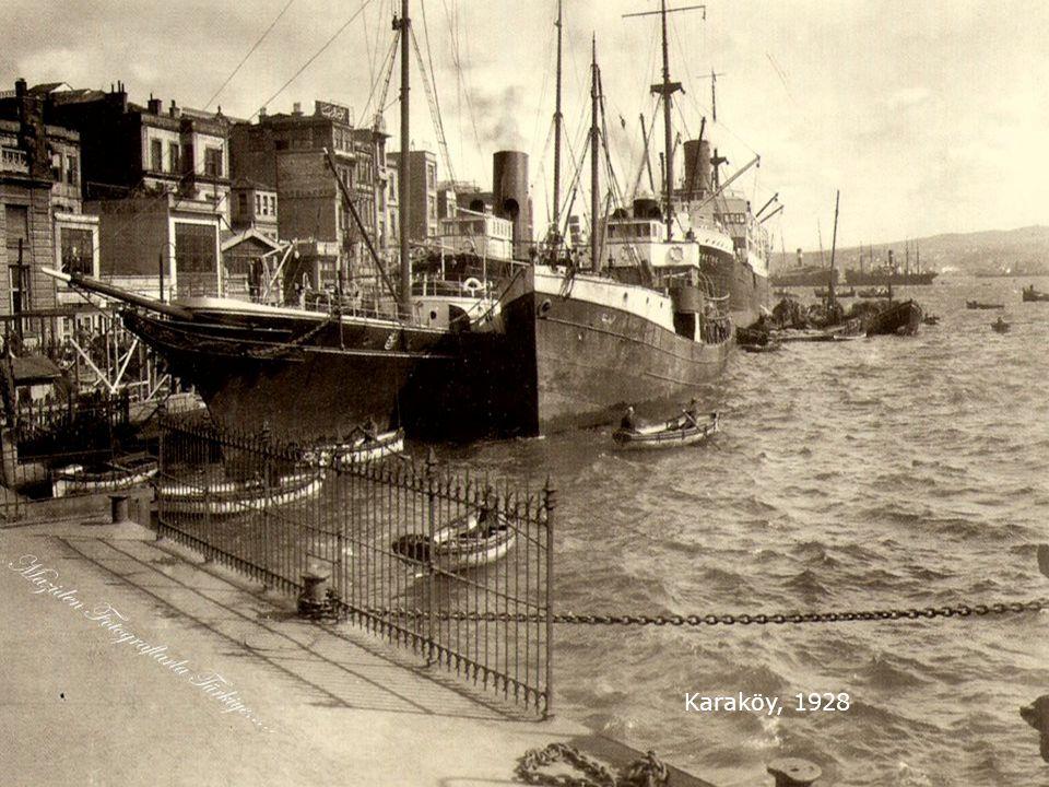 İstanbul'da bir Tornacı..1928