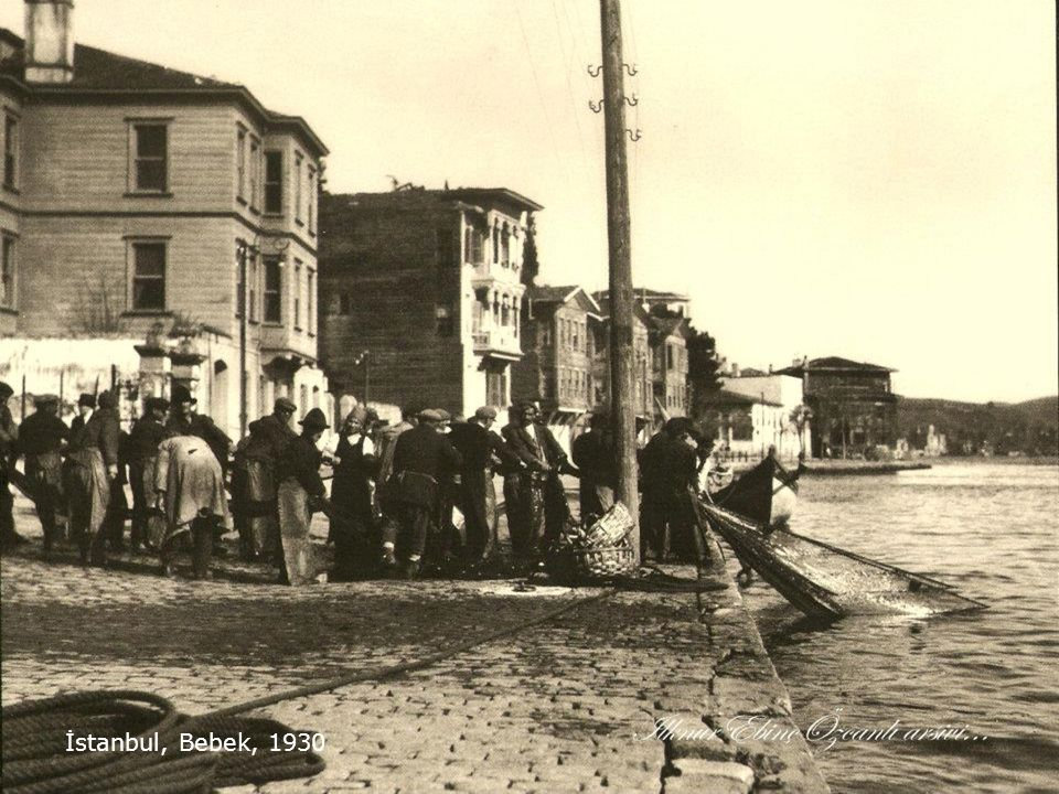 İstanbul balık pazarı, 1930