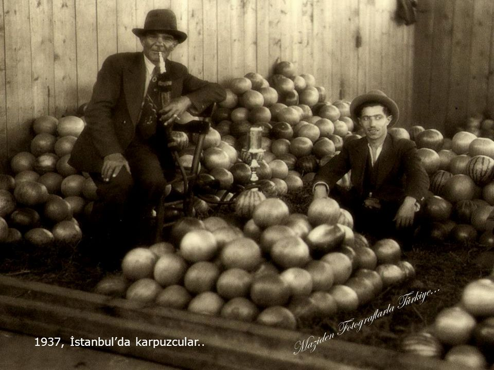 İstanbul, 1937 Foto:Edward S.Murray...