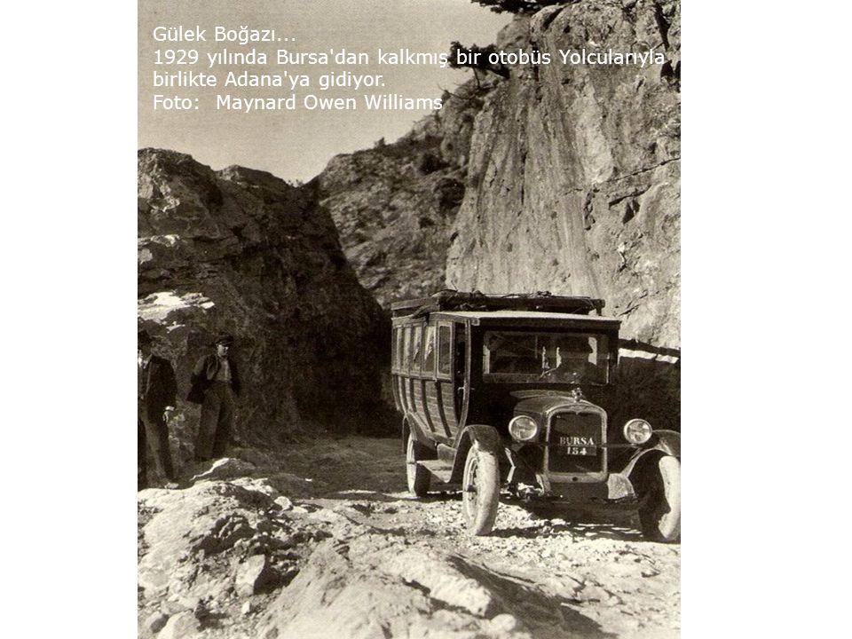 Afyon Karahisar'da Pazar yeri 1924 Foto : George R.King
