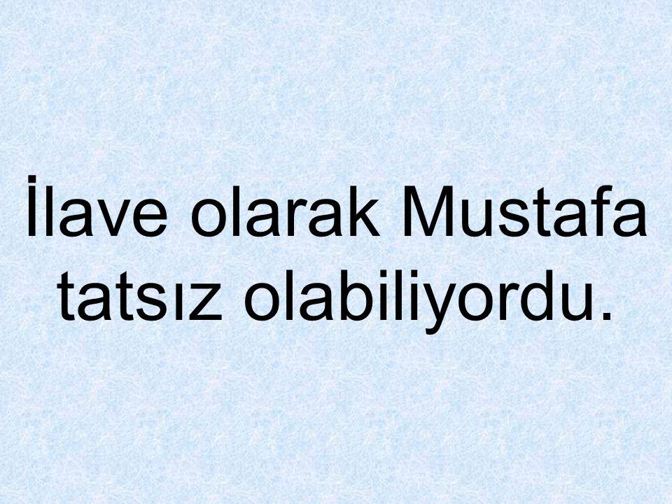 Mustafa içine kapanık ve okulda derslere çok fazla ilgi göstermiyor.
