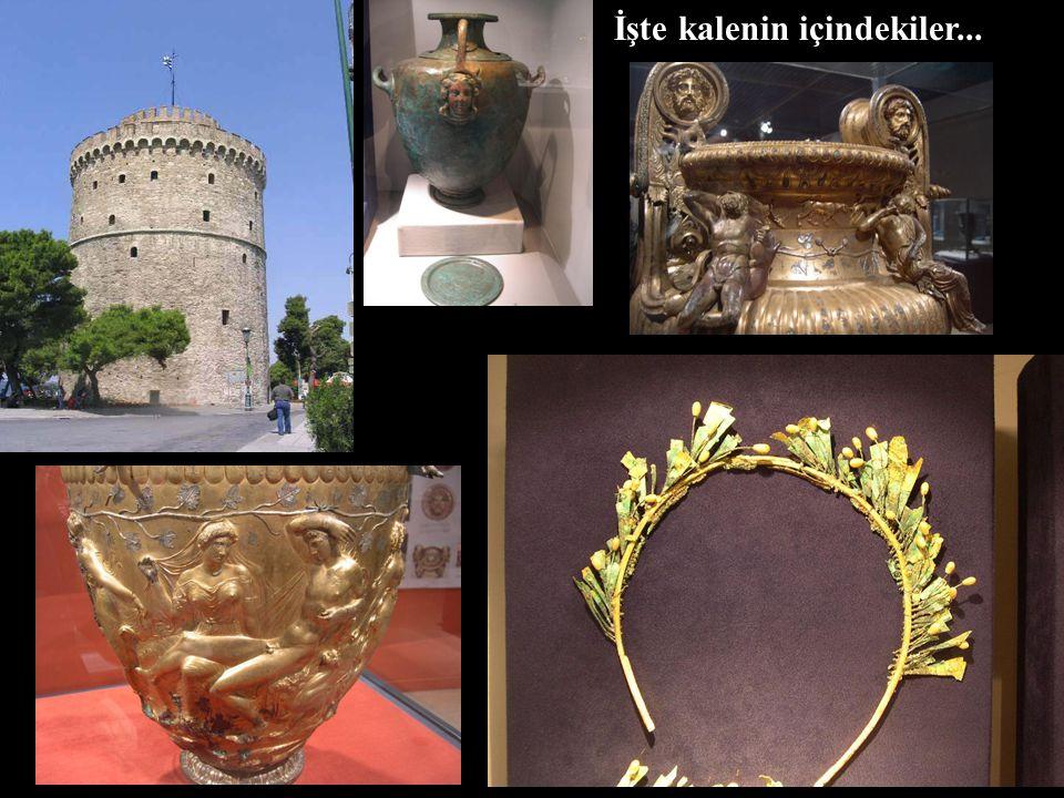 """Şehrin sembolü deniz kıyısında bulunan """"Leukos Pirgos"""