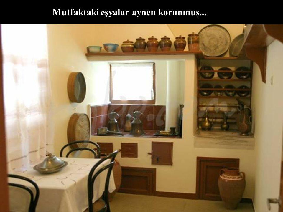 Mustafa Kemal Atatürk'ün doğduğu oda !