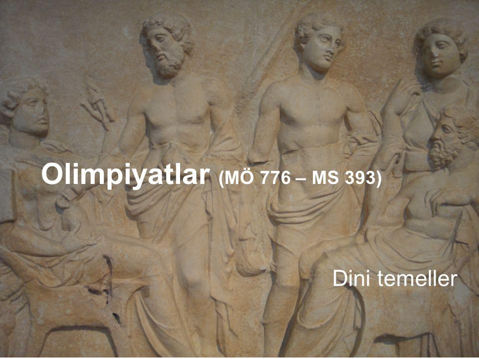 Dini temeller Olimpiyatlar (MÖ 776 – MS 393)