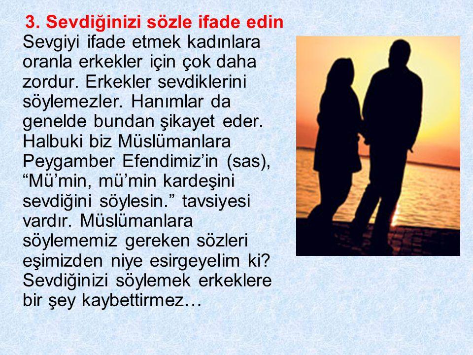 4.Birlikte dua edin Eşinizle oturun ve ellerinizi açın, birbiriniz için sesli dua edin.
