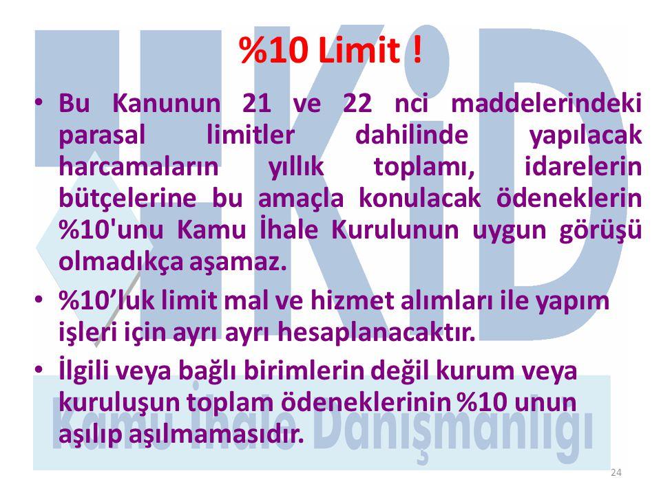24 %10 Limit .