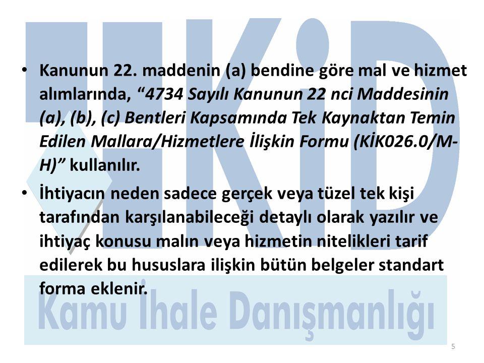 5 • Kanunun 22.