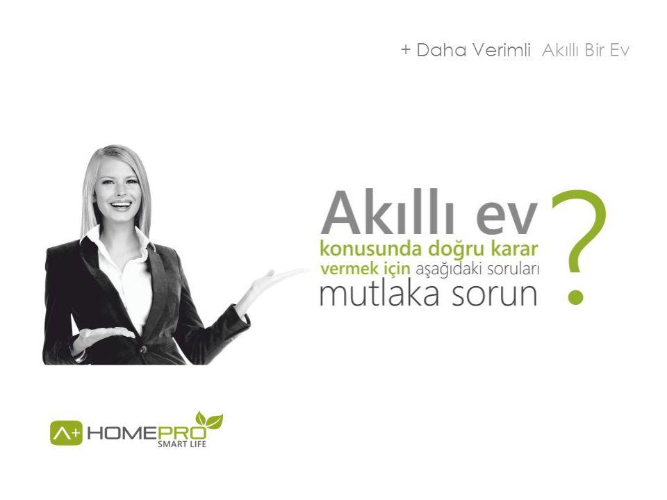 + Daha Verimli Akıllı Bir Ev
