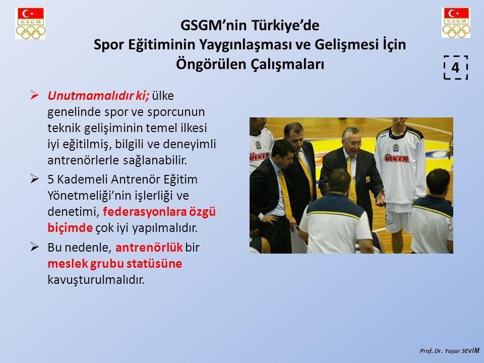 Şimdi Türk Sporu İçin Neler Yapılmalıdır.