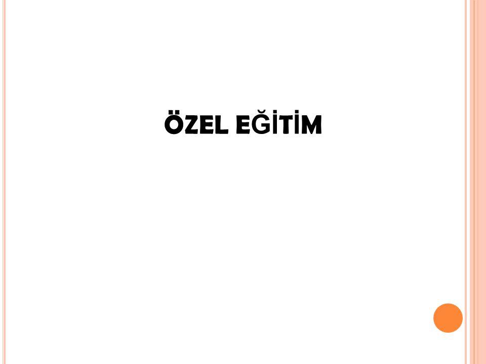 ÖZEL E Ğİ T İ M