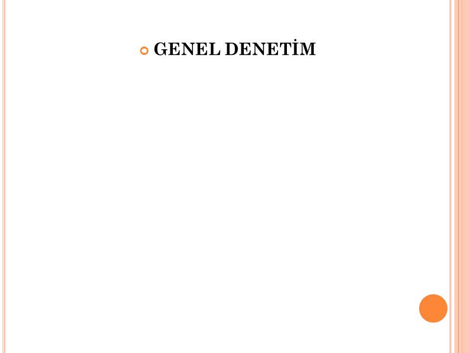 GENEL DENETİM