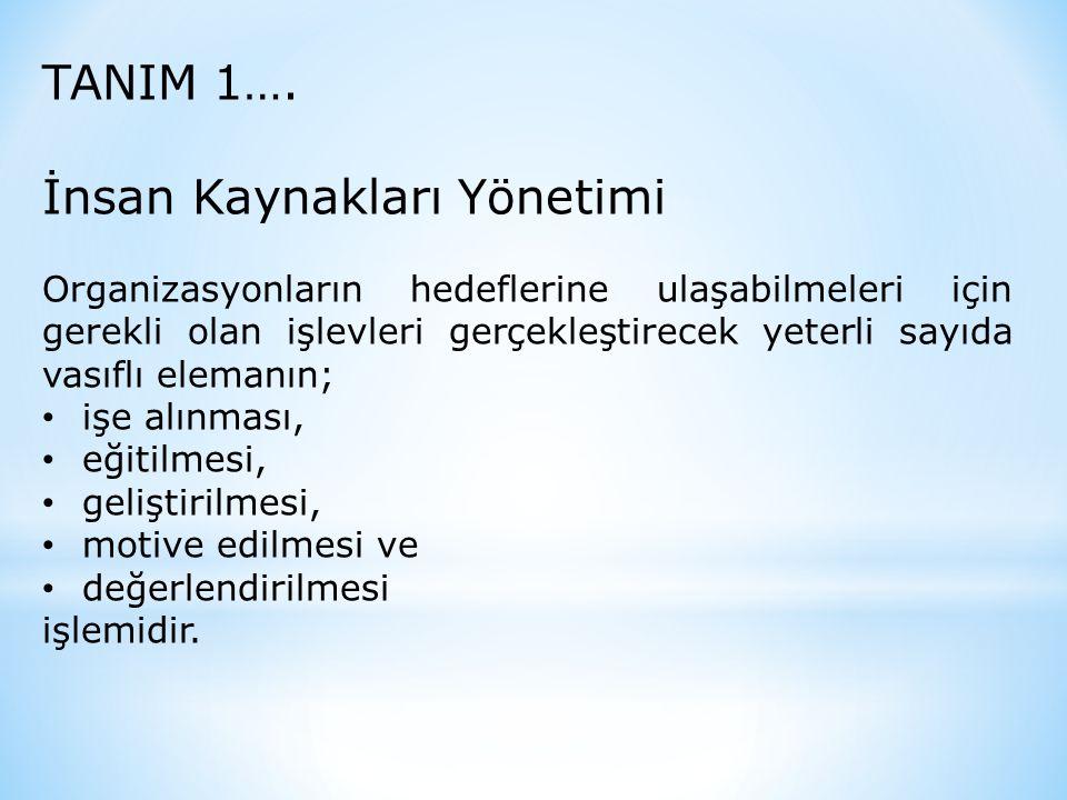 TANIM 1….