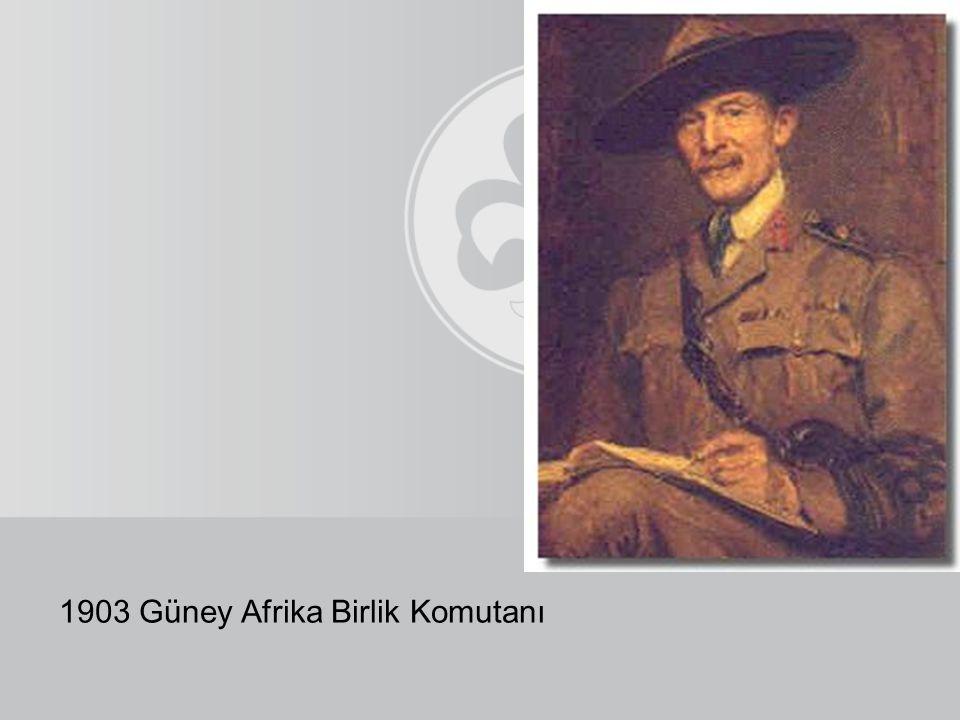 1903 Güney Afrika Birlik Komutanı