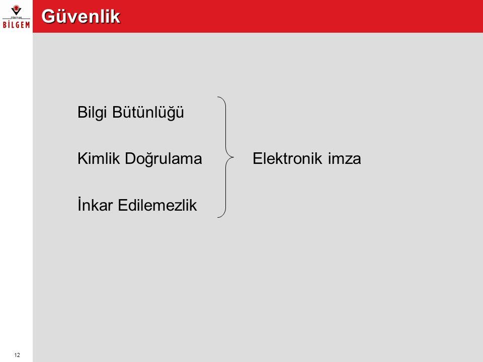 13 E-imzaya Geçiş Süreci  Yazılım ve donanım altyapısının oluşturulması  İş süreçlerinin elektronik ortama aktarılarak uygulamalar geliştirilmesi  Uluslararası standartlara ve Türkiye'deki e-imza mevzuatına uygun e- imza oluşturma ve doğrulama yapan yazılım kütüphanelerinin uygulamaya entegre edilmesi  E-imza ile ilgili kurum politikalarının belirlenmesi  E-imzanın uygulandığı sistemlerde güvenliğin sağlanması •Ağ güvenliği •Erişim hakları •İşlevlerin düzgünlüğü ve sürekliliği •Kayıtların tutulması •Yedekleme •Arşivleme •Felaket kurtarma