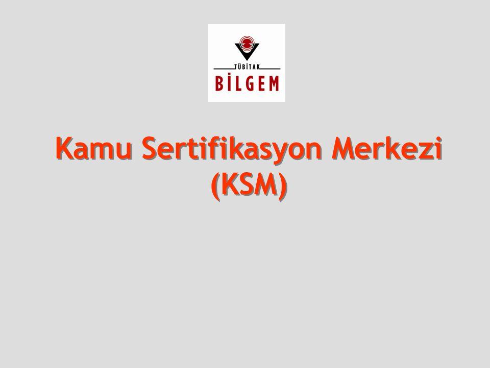 24 Kamu Sertifikasyon Merkezi  Haziran 2005'den itibaren ESHS'ler Türkiye'de faaliyetlerine başlamıştır.