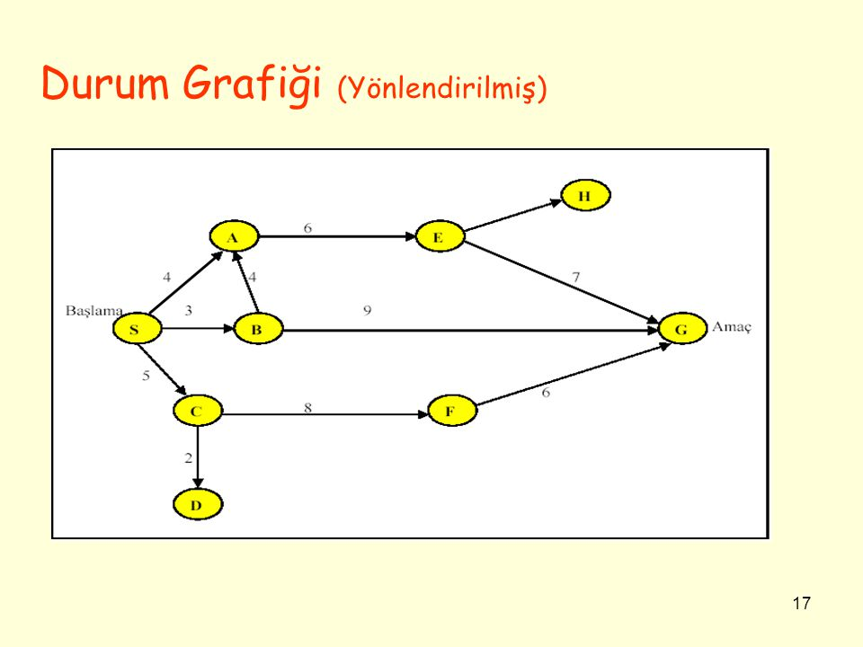 17 Durum Grafiği (Yönlendirilmiş)
