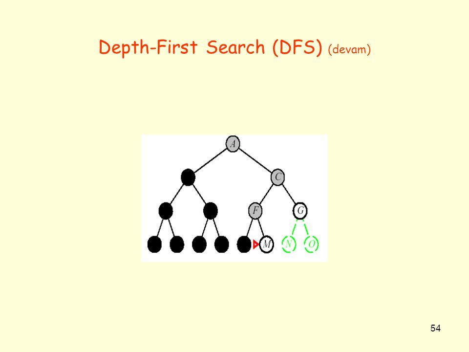 54 Depth-First Search (DFS) (devam)
