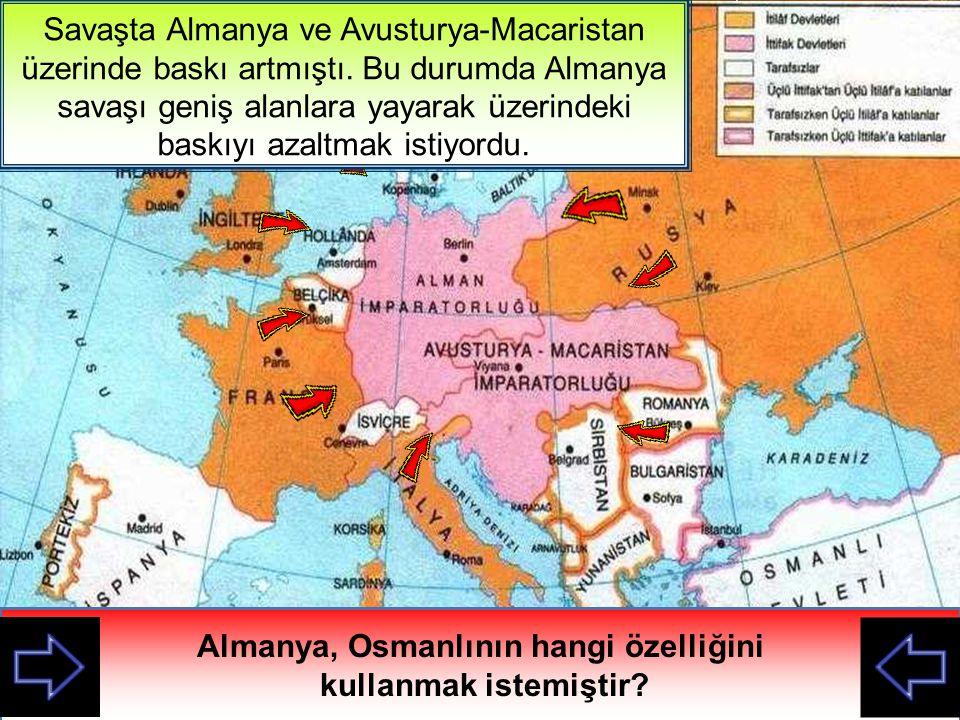OsmanlıBulgaristanJaponyaRomanyaABDİtalyaRusyaFransaAvust.- Mac Savaştaki Bloklar Almanyaİngiltere