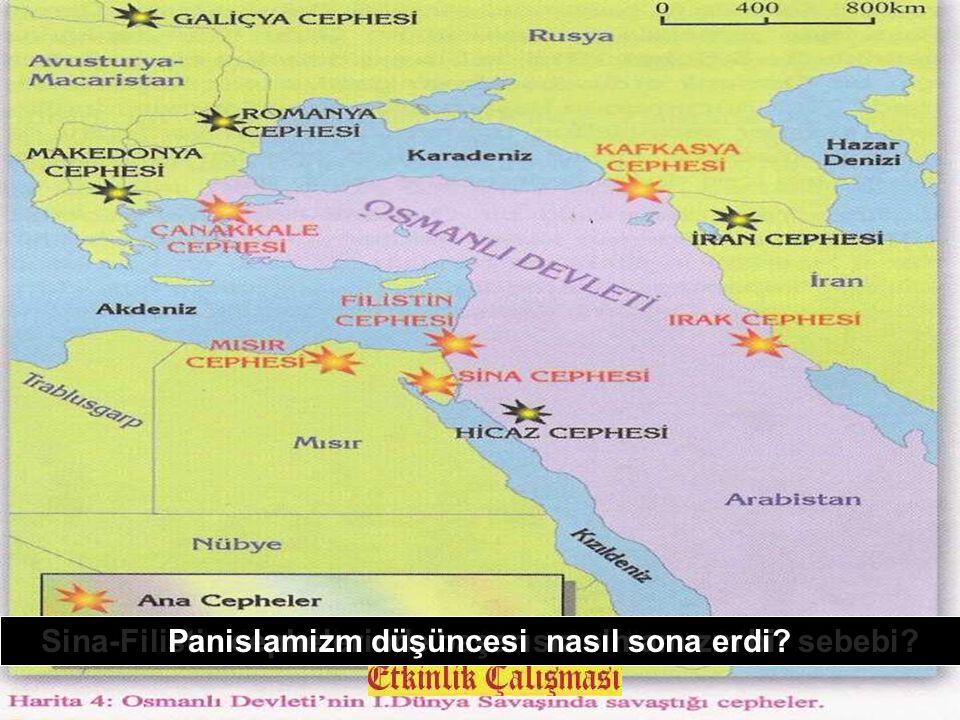I. Dünya Savaşı sırasında İngiltere Osmanlının toprak bütünlüğünü istiyordu Rusya'nın Osmanlıya saldırması ile Osmanlı savaşa girdi İtilaf devletleri