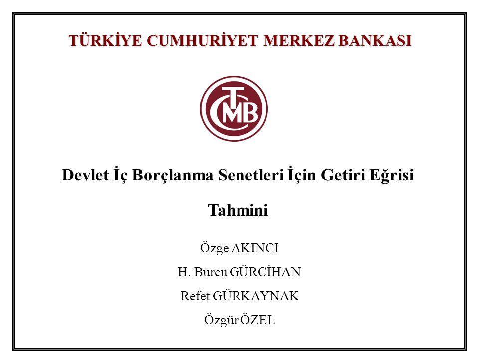 Getiri Eğrisi Tahmin Sonuçları (16.02.2005 – 11.08.2006)