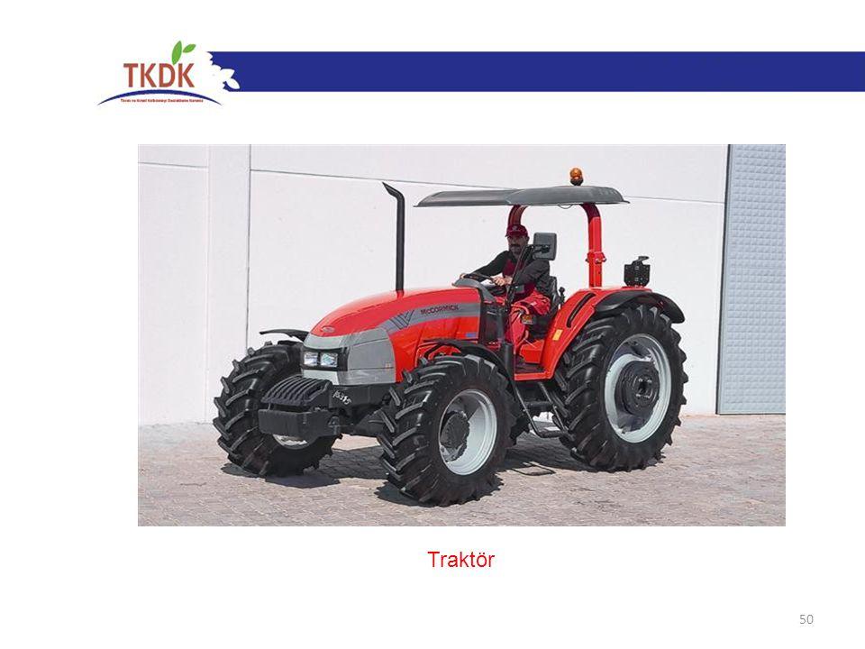 50 Traktör