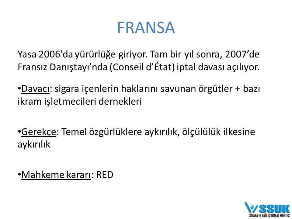 FRANSA Yasa 2006'da yürürlüğe giriyor.