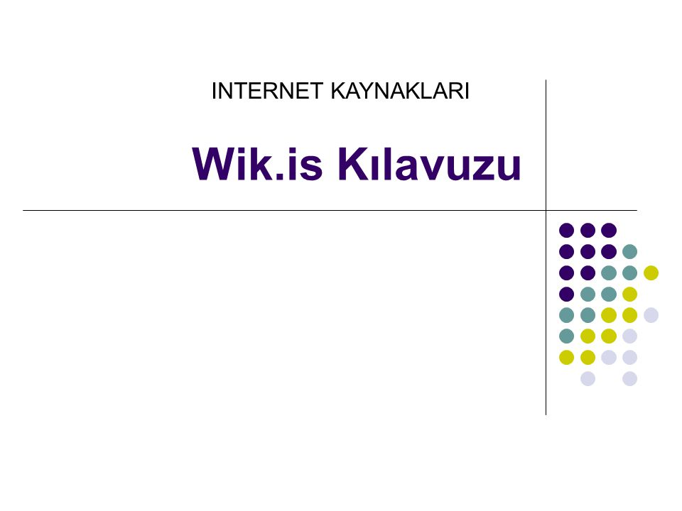Bir Wiki'ye Kayıt Olma  1.