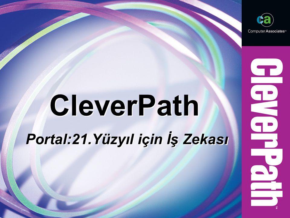 CleverPath Portal:21.Yüzyıl için İş Zekası