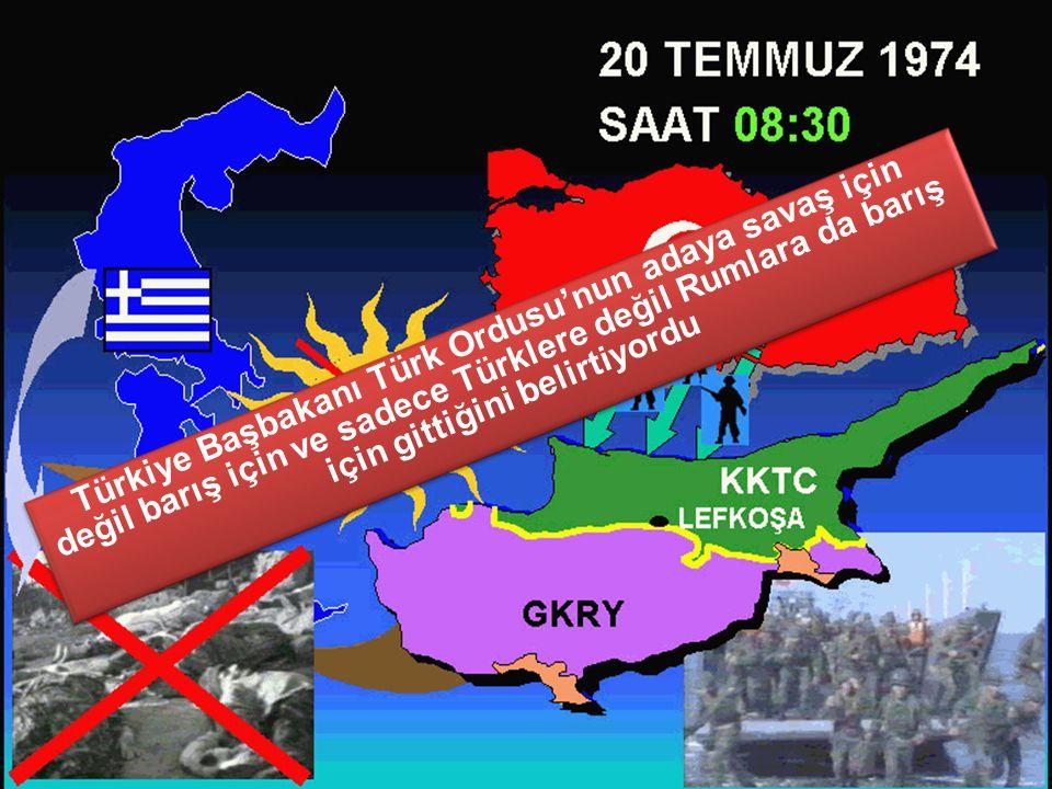 Enosis'i gerçekleştirip Kıbrıs'taki hakimiyeti tek başımıza ele geçirmemiz gerekir EOKA'yı zaten Kıbrıs'ı Yunanistana bağlamak için kurmuştuk. Türkler